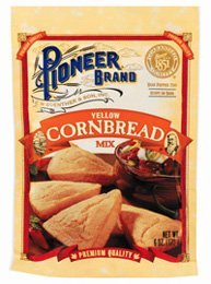 Pioneer Brand Yellow Cornbread Mix 6 Oz (Pack of 6) (Pioneer Bread compare prices)