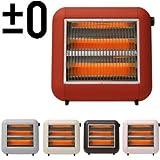 ±0 Infrared Electric Heater プラスマイナスゼロ 遠赤外線電気ストーブ [レッド]