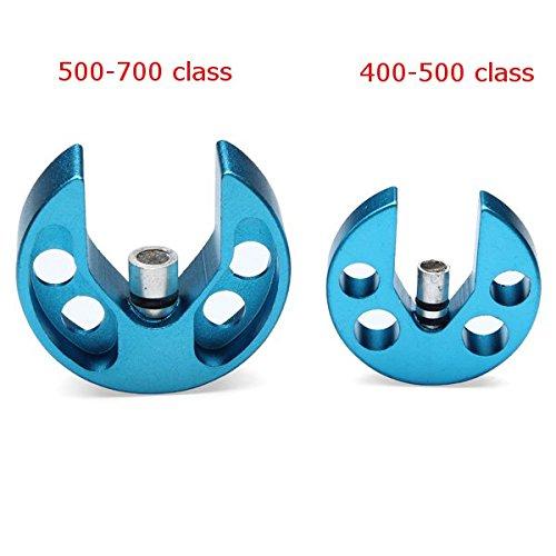 Bluelover Strumento Livello FC lega di alluminio piatto oscillante per 400-500 RC