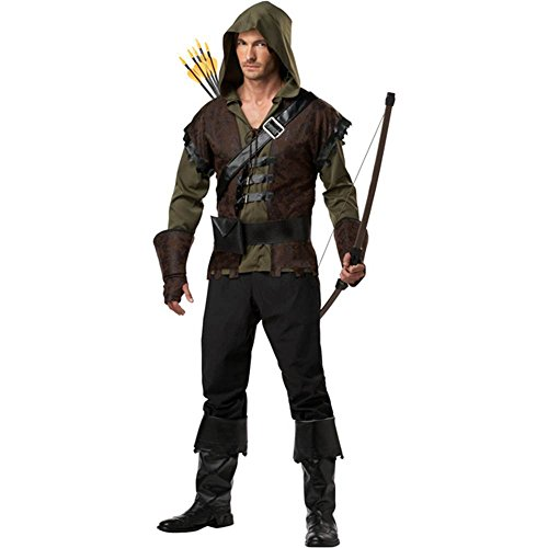 Robin Hood Costume - X-Large - Chest Size 44-46