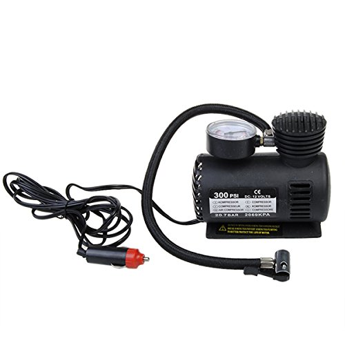300 PSI 12 Volt DC Pumping Air Pumps Compressor portable (Automatic Grease Gun Battery compare prices)