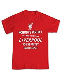 When Your From Liverpool BRITISH HUMOUR T-shirt (L - Large, Red)