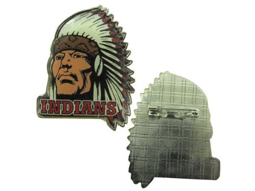 Indian Mascot Pins - Pack of 24