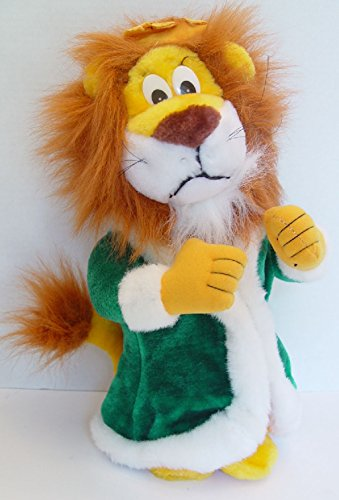 "Liberty Toys Lion King Leo of the Jungle in Green Robe Plush 15"" Tall - 1"