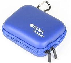 DURAGADGET Sturdy Blue Camera Carry-Case with Soft Fleece Lining for Contour Roam 2 amp 2
