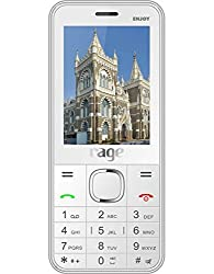 Rage Enjoy Dual Sim (GSM+GSM) Mobile White