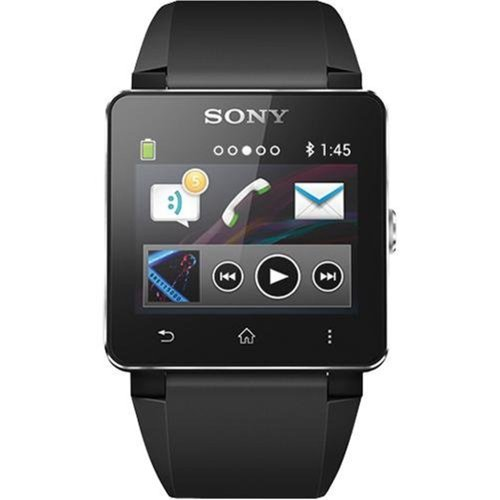 Sony Sony SW2 Digital Dial Unisex Watch (Black)
