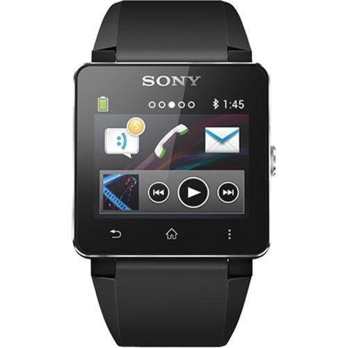 Sony Sony SW2 Digital Dial Unisex Watch (Black)