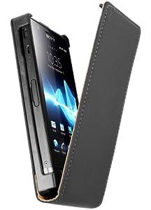 mumbi Flip Case Sony Xperia P Tasche Hülle