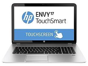 "HP ENVY TouchSmart 17 Quad Edition Notebook PC (Silver); Intel Core i7-4700MQ, 17.3"" Multi-Touch Display, 1TB Hard Drive (1024GB), Backlit Keyboard & 16GB DDR3L RAM (LATEST MODEL); 17t-j000"