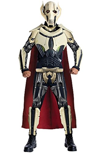 [8eighteen Star Wars Deluxe General Grievous Adult Costume] (Star Wars General Grievous Child Costumes)