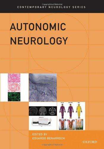 Autonomic Neurology (Contemporary Neurology Series)