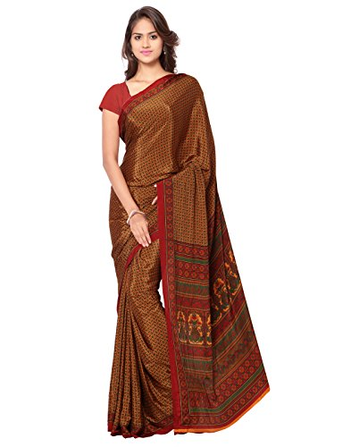 Ligalz-Womens-Clothing-Party-Wear-Best-Low-Price-Diwali-Sale-Offer-Heigh-Discounted-Yellow-Color-Havy-Printed-Party-Wear-Free-Size-Crepe-Saree-Sari-With-Unstitched-Blouse-Piece