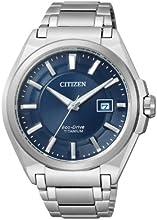 Comprar Citizen Super Titanium BM6930-57M - Reloj analógico de cuarzo para hombre, correa de titanio color plateado