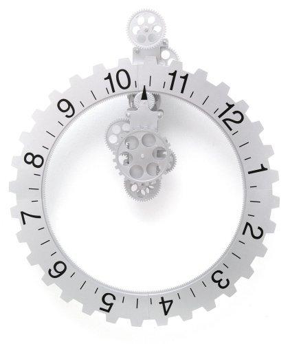 B.N.G Big Wheel Revolving Wall Clock