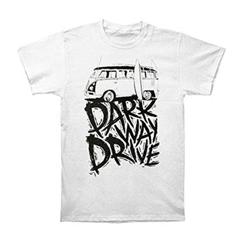 Tusgur Parkway Drive Men's Kombi Slim Fit T-shirt White