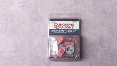 Barbarian Token Set Dungeons & Dragons 4th Edition Accessories