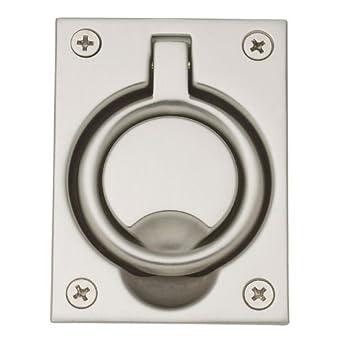 Baldwin Hardware 0395 150 Flush Ring Pull Pocket Door