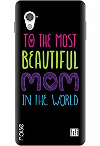 Noise Designer Printed Case / Cover for InFocus M370 / Quotes/Messages / Beautiful Mom Design