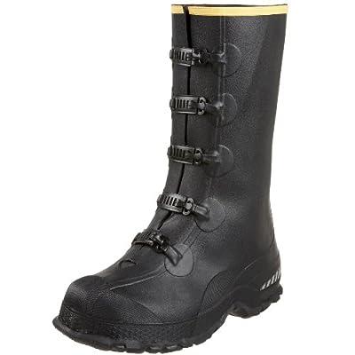 """LaCrosse Men's 14"""" 5-Buckle Premium Deep Heel Overshoe"""