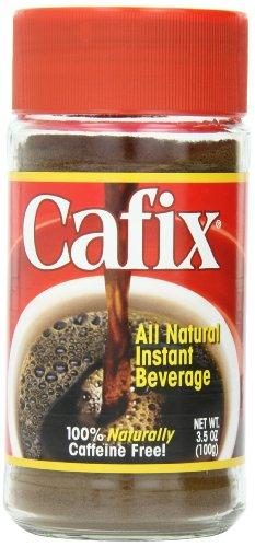 Cafix Instant Beverage Jars, 3.5-Ounce (Pack of 4)