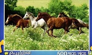 Puzzlebug 500 Piece Puzzle ~ Meadow Run - 1