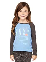 Roxy - Girls Test Dream L T-Shirt, Size: 3T, Color: Ultrmarine