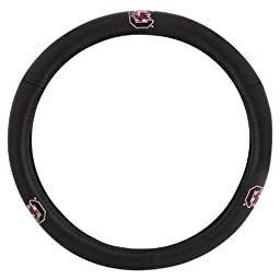 Pilot Alumni Group SWC-953 Leather Steering Wheel Cover (Collegiate South Carolina Gamecocks)