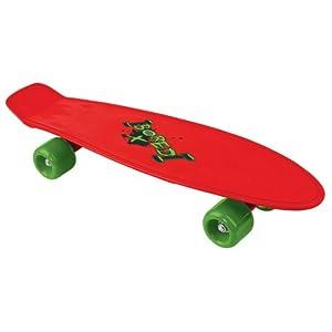Bored Kids Skateboard - Red, 58x15cm