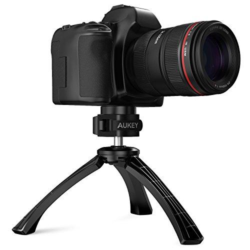 AUKEY-Treppiede-Stand-Mini-Treppiede-Smartphone-360-Supporto-per-il-iPhone76-6S-5-5s-5c-4s-4-Samsung-Galaxy-S2-S3-S4-S5-S6-Fotocamere-Digitali-GoPro-Fotocamera-Reflex-ecc