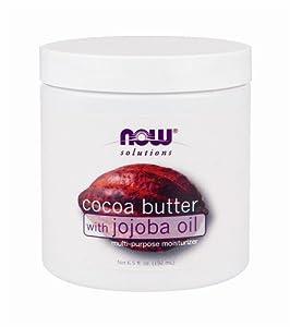 Cocoa Butter with jojoba oil - 100% Pure 6.5 fl.oz