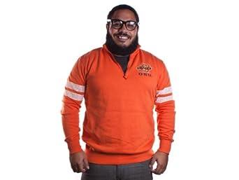 Colosseum Mens Flex 1 4 Zip Fleece OSU Shirt Orange by Colosseum