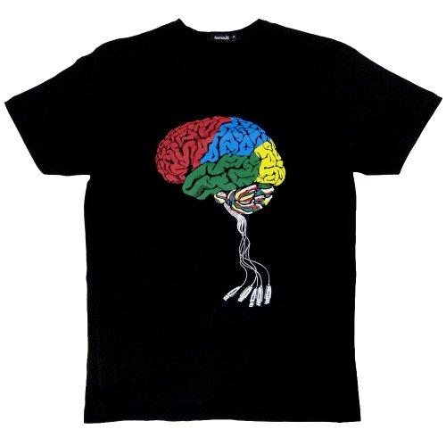 パロディTシャツ 電脳 (Lサイズ)