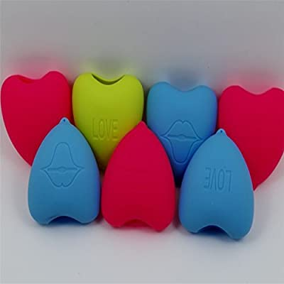 SaiDeng Heart Shaped Silicone Lip Enhangcing Product Pout Lips Tool Make You Look More Pouting Lips But Only Lasts 2 Hours At Most