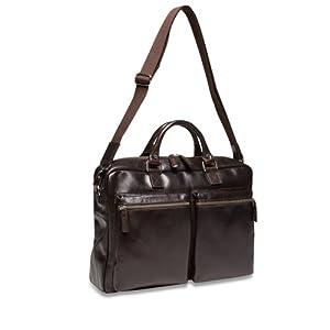 Picard Buddy Businessbag A4 Herren Leder - 41x29x10cm (Cafe (Dunkelbraun))