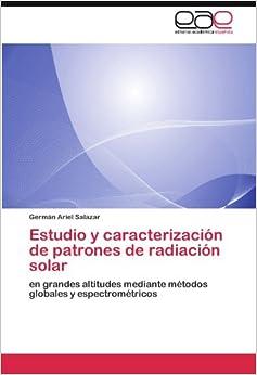 Estudio y caracterización de patrones de radiación solar: en grandes