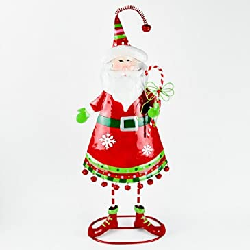 Light Up Standing Santa Decoration