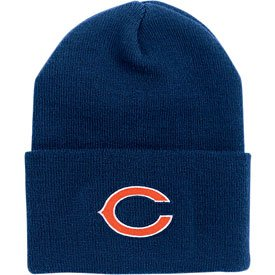 Chicago Bears Youth Cuffed Knit Hat