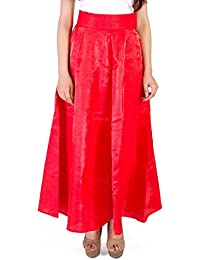 Legrisa Fashion Red Colour Long Skirts