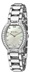Ebel Women's 9956P28/991050 Beluga Tonneau Mother-Of-Pearl Dial Diamond Watch by Ebel