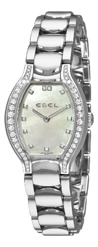Ebel Women's 9956P28/991050 Beluga Tonneau Mother-Of-Pearl Dial Diamond Watch