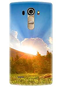Spygen Premium Quality Designer Printed 3D Lightweight Slim Matte Finish Hard Case Back Cover For LG G4