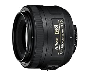 Nikon AF-S DX Nikkor 35mm f/1.8G Prime Lens for Nikon Digital SLR Camera (Black)