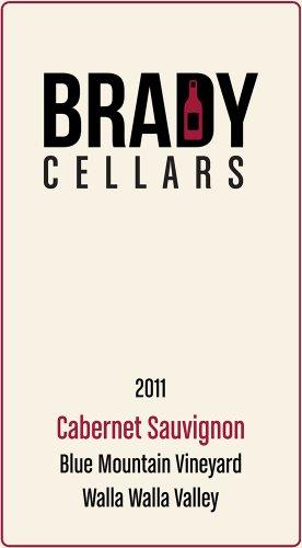 2011 Brady Cellars Cabernet Sauvignon Walla Walla Valley 750 Ml