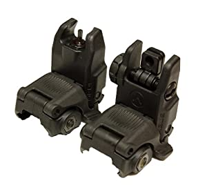 Magpul Industries MBUS Generation II Sight Set Front & Rear Color BLACK