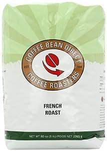 Coffee Bean Direct Whole Bean Coffee, 5 Pound