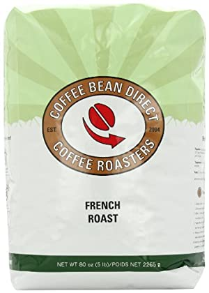 French Roast, Whole Bean Coffee, 5-Pound Bag