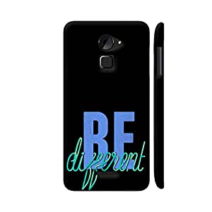 Colorpur Be Different Artwork On Coolpad Note 3 Lite Cover (Designer Mobile Back Case)   Artist: UtART