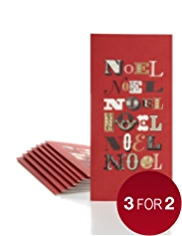 8 Luxury Noel Luxury Christmas Multipack of Cards
