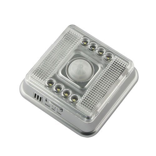 Sale!! 8-LED Light Lamp PIR Auto Sensor Motion Detector